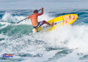 Robby Naish paddle boarding Costa Rica