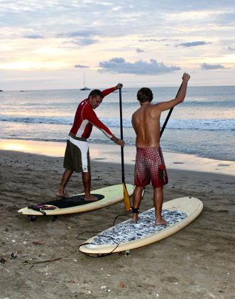 Paddle boarding lessons Tamarindo
